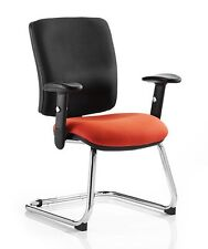 Dynamic Chiro Coloured Seat Cantilever Visitors Chair