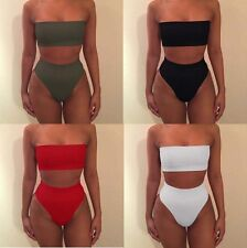 Women's Sexy Summer Padded Bra Swimsuit Beach Swimwear Bathing Suit Bikini Set