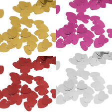 Metallic Heart Wedding Party Table Confetti Decorations Sprinkles Scatters gift