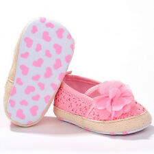 Baby Girl Flower Crocheted Crib Shoes Anti-slip Toddler Newborn Shoes Fashion GT