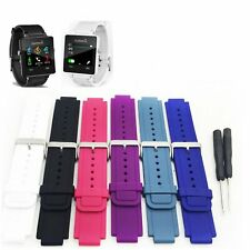 Silicone SmartWatch Watch Band Strap Bracelet For GARMIN VIVOACTIVE With Tools