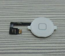 Home Menu Button Flex Cable + Key Cap assembly for Apple iPhone 4 4G