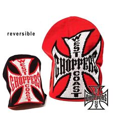 West Coast Choppers Beanie JJ Reversable Jesse James Knitted Cap NEW