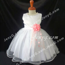 #NLPK9 Baby Flower Girl Wedding Graduation Holiday Birthday Party Gowns Dresses