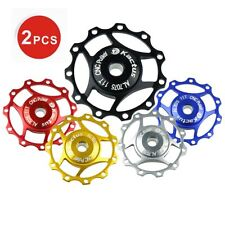 2 X Road Cycling Bicycle Bike Jockey Wheel SHIMANO SRAM Rear Derailleur Pulley