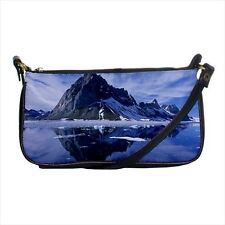Spitsbergen Island Norway Mini Coin Purse & Shoulder Clutch Handbag