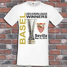 Sevilla UEFA Europa League 2016 Winners Shirt European Champions Soccer T-Shirt