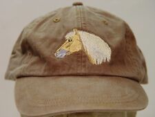 HAFLINGER HORSE HAT LADIES MEN BASEBALL CAP - Price Embroidery Apparel