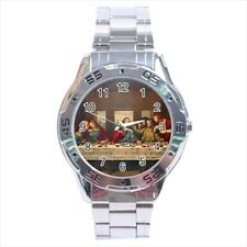 Il Cenacolo the Last Supper Leonardo Da Vinci Stainless Steel Watches
