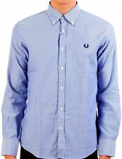Camicia Uomo Maniche Lunghe Fred Perry Shirt Men Long Sleeves 30213521