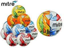 10 x BRAND NEW MITRE IMPEL TRAINING BALL *2015 GRAPHICS* SIZE 3,4,5-RD-BL-OR