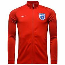 Nike England Authentic N98 Track Jacket 2016/17-Red-Mens