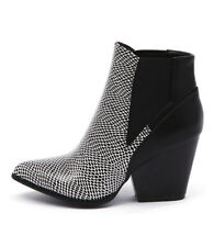 New Ko Fashion Johna Dots Black Womens Shoes Casual Boots Ankle