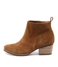 I Love Billy Lasey Tan Suede Women Shoes Casuals Boots Ankle Boots