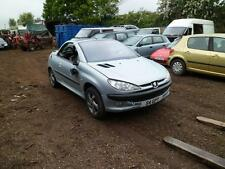 Peugeot 206cc 1.6 Convertible 2003 Silver BREAKING FOR SPARES - Good Roof & Mech