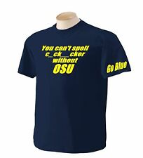 Michigan You cant spell cocksucker without OSU Wolverines Funny Gildan T Shirt