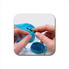 Crocheting Bottle Opener Keychain and Beer Drink Coaster Set