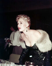 Kim Novak Sexy Cleavage Shot Low Cut Dress 1950's Poster or Photo