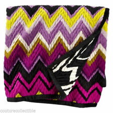 New! Authentic Missoni Home Target Throw Blanket - Reversible - Soft & Thick NWT