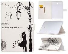 """UK In love Leather Smart Stand Case Cover for Samsung Galaxy Tab E 9.6"""" SM T560"""