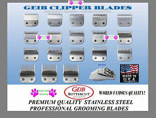 GEIB BUTTERCUT Pet Grooming STAINLESS STEEL BLADE*Most Oster,Wahl,Andis Clipper