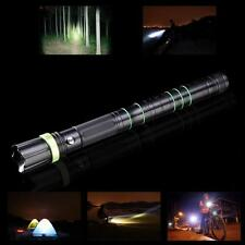 Tactical LED Flashlight Knife Hammer For Survival Self Defense Hunting Camping