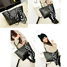 Fashion Punk Skull Rivet Handbags Womens Shoulder Bags Tote Messenger Purse SOZ