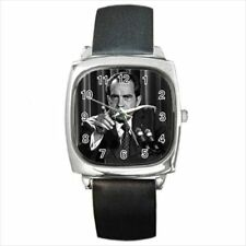 Richard Nixon California Leather Strap & Stainless Steel Watches