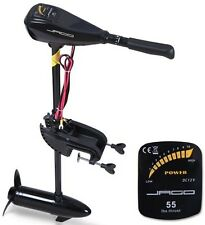 Electric Trolling Outboard Motor Fishing Electro Engine 55 lbs Boat Dinghy New