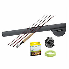 Redington Voyant Fly Rod Combo Outfits w/ Surge Reel Complete Kit Fly Fishing