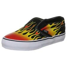 Vans Classic Slip On Hot Rod Flame  Infant Toddler Boy Skate Shoes Size 4-10