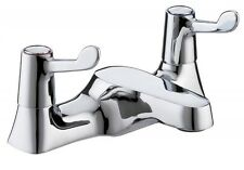 Bristan Lever Bath Filler Tap Chrome with Ceramic Disc Valves RETRO  VAL BF CCD