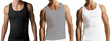 Lot of 9 Pieces Mens Tank Top 100% Cotton A-Shirt Wife Beater Ribbed Undershirt