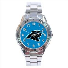 Carolina Panthers Stainless Steel Watches - NFL Football