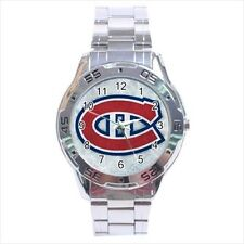 Montreal Canadien Stainless Steel Watches - NHL Hockey