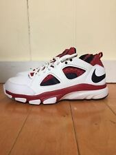 NIKE ZOOM HUARACHE TR LOW WHITE RED TRAINER TRAINING SZ 8-12  442243-161