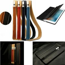 "Genuine Leather Case Sleeve Pouch Bag Skin For Apple iPad Pro Pencil 9.7"" 12.9"""
