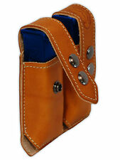 NEW Barsony Tan Leather Dbl Mag Pouch Sig-Sauer Walther Mini/Pocket 22 25 380