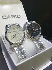 Casio MTP-1384D-1A / 7A stainless steel Men's watch with original box  BRAND NEW