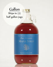 1 Gallon Pure Vermont Maple Syrup in Glass Bottles (ships as 2 half gal)