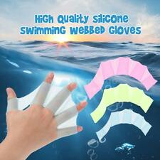 Great! 1Pcs Swim Gear Fins Silicone Hand Flippers Webbed Gloves Swimming P1N7