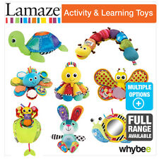 Tomy Lamaze Activity & Learning Baby Nursery Toys Full Range! Pull, Press & See!
