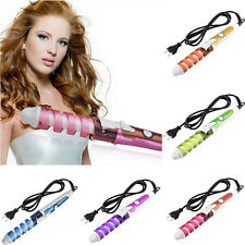 New Electric Magic Hair Styling Tool  Hair Curler Roller Spiral Curling Iron