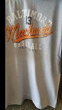 New BALTIMORE ORIOLES MANNY MACHADO #13 T SHIRT MLB Licensed