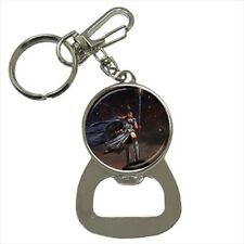 Athena Goddes Bottle Opener Keychain and Beer Drink Coaster Set