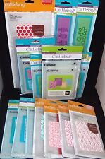 Cuttlebug Embossing Cricut Folders Assorted Patterns & Designs by Provo Craft