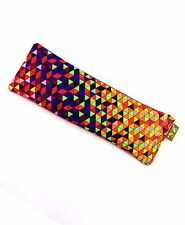 Linseed/Flaxseed Eye Pillow Scented_100% Cotton_Gift Box_Yoga PRISM WEDGE