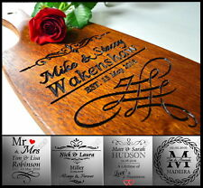 Personalised Wedding Gift Custom Personalized Cutting Board Anniversary Idea