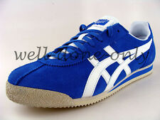 retro Asics Onitsuka Tiger Corsair Cortez mid royal blue white mens vtg shoes