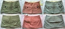 ABERCROMBIE&FITCH Plaid Mod Wool Blend Low Rise Lined School Girl Mini Skirt NWT